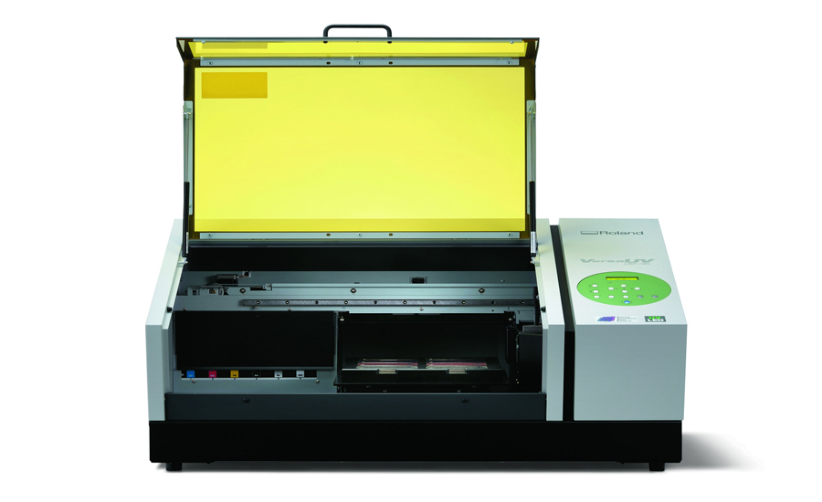 VersaUV LEF-12i Benchtop UV Flatbed Printer